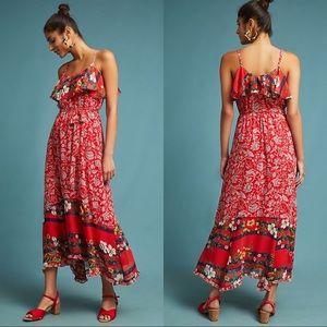 Anthropologie One September Zuri Midi Dress